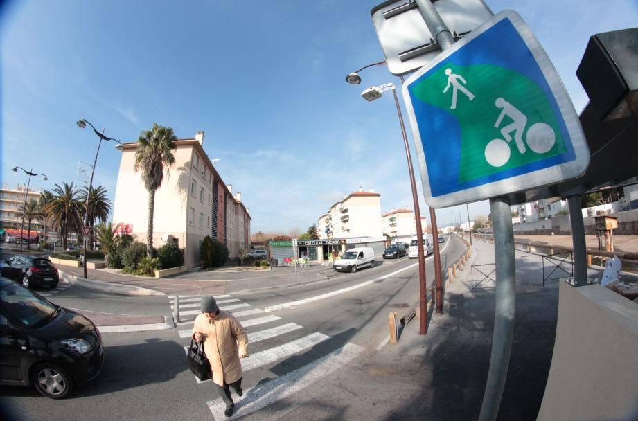 C'est dans ce quartier de Fréjus, à La Gabelle, qu'ont eu lieu des heurts violents, dans la nuit de samedi à dimanche.