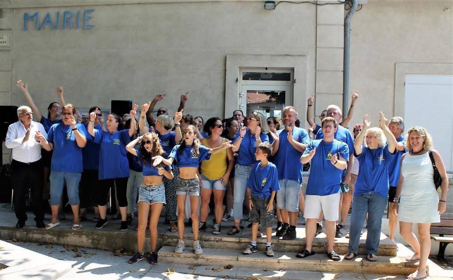 Les bénévoles organisateurs ont fait les choses en grand.