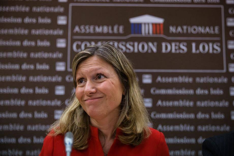 Yael Braun-Pivet, présidente de la commission des Lois.