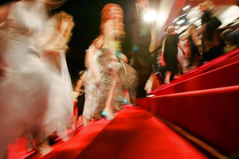 Le tapis rouge du Festival de Cannes.