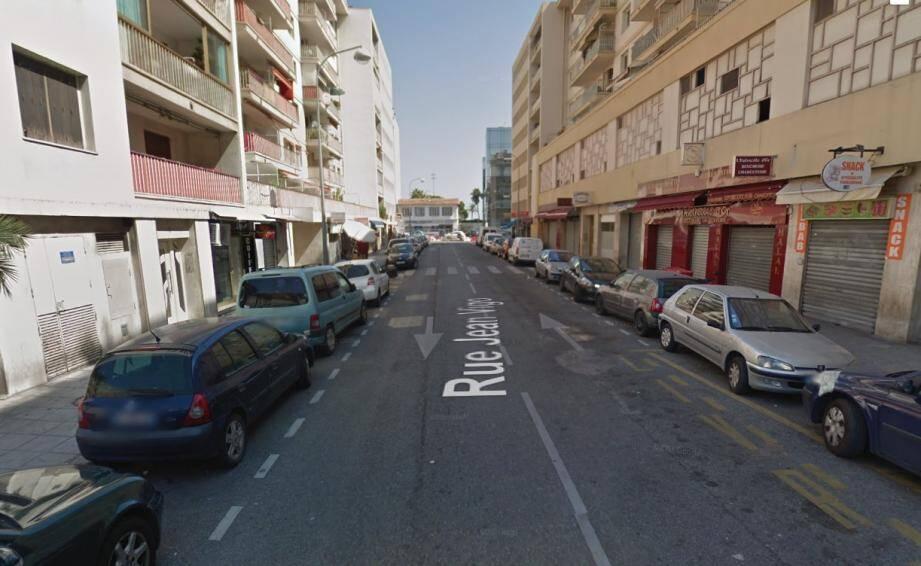 La rixe s'est déroulée rue Jean-Vigo, à l'ouest de Nice.