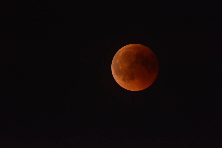Image d'illustration d'une éclipse de Lune.