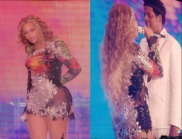Beyoncé et Jay-Z à Nice.