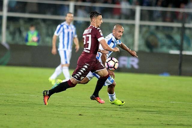 Antonio Barreca, sous les couleurs du Torino.