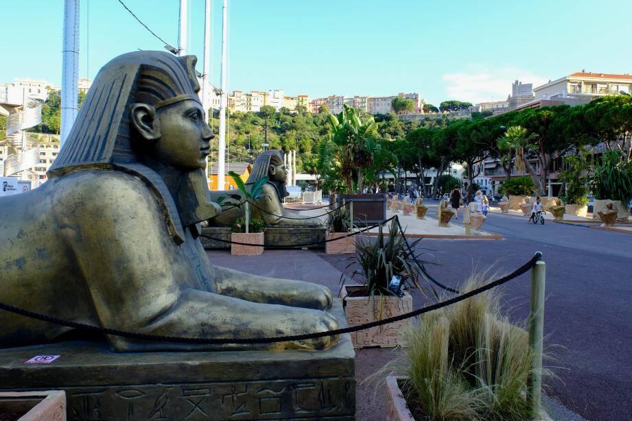 Le port Hercule prend des airs d'Alexandrie