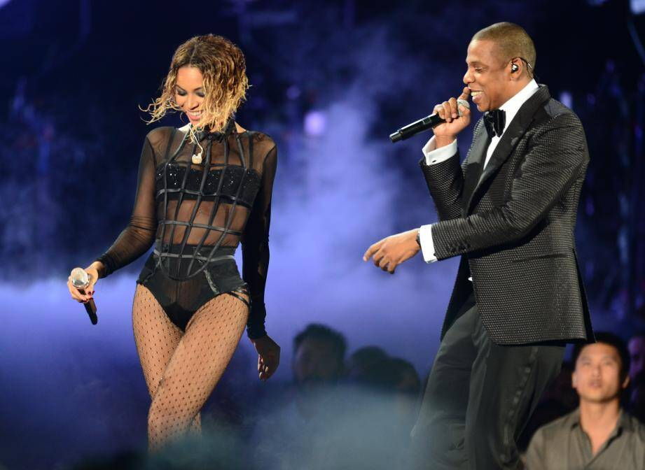 Beyoncé Knowles et Jay-Z.