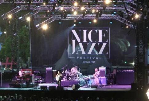 Illustration du Nice Jazz Festival.