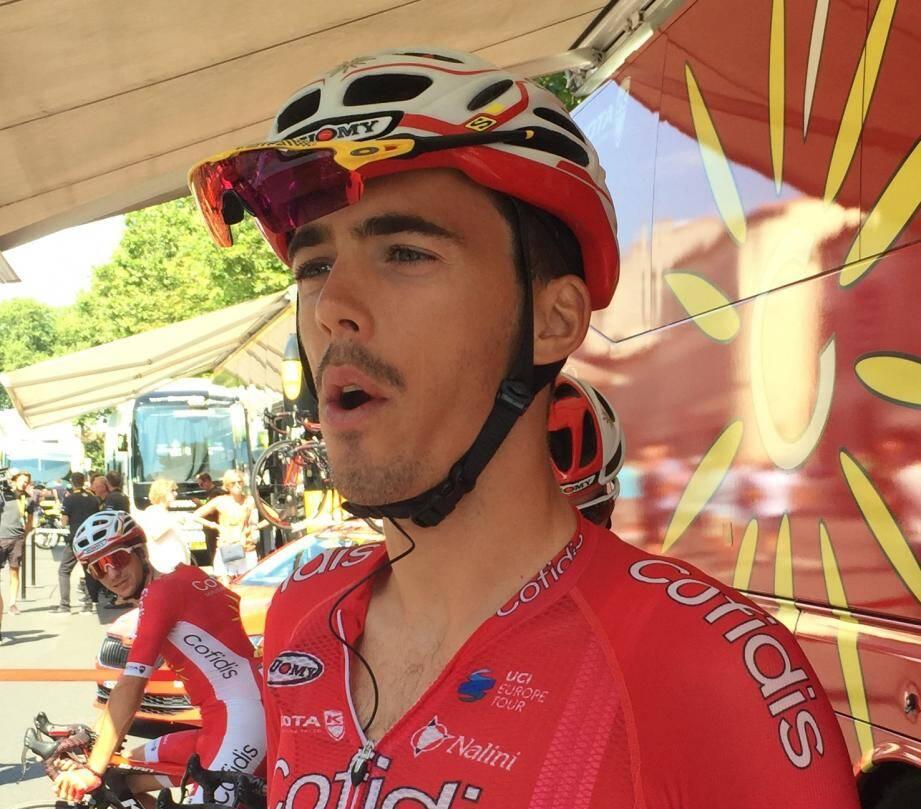 Christophe Laporte a obtenu le meilleur classement de sa carrière sur une étape du Tour.