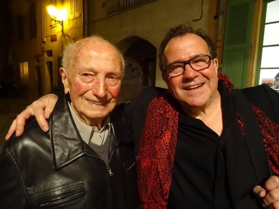 Lucien Galliano et son fils, Richard
