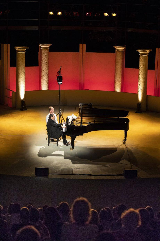 Le pianiste Jean-Marc Luisada a enchanté cette nuit classique.