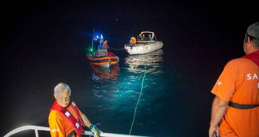 Deuxième intervention de nuit en deux jours pour les sauveteurs en mer bandolais.