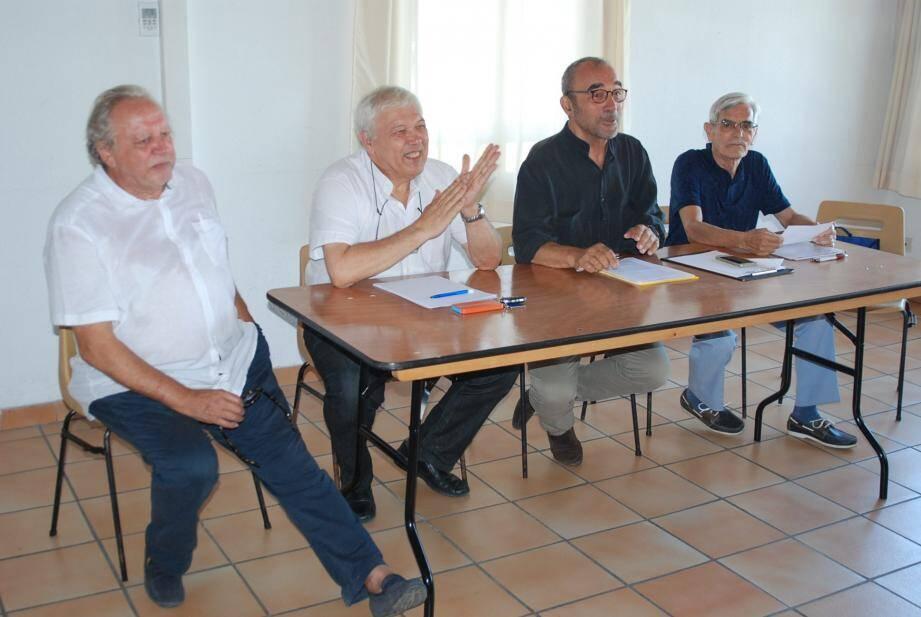 Ambiance détendue au cours de ces assises où bon nombre de sujets ont été étudiés ou réglés.