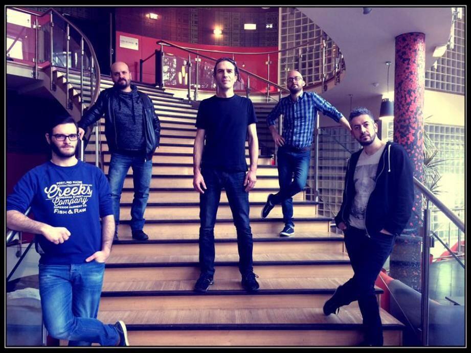 Antoine, Pierre, Laurent, Olivier et Greg feront la première partie du concert de David Hallyday, samedi à Brignoles.