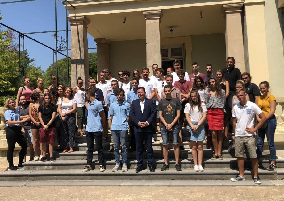 C'est la première fois que la municipalité de Saint-Raphaël organise une réception de bienvenue.