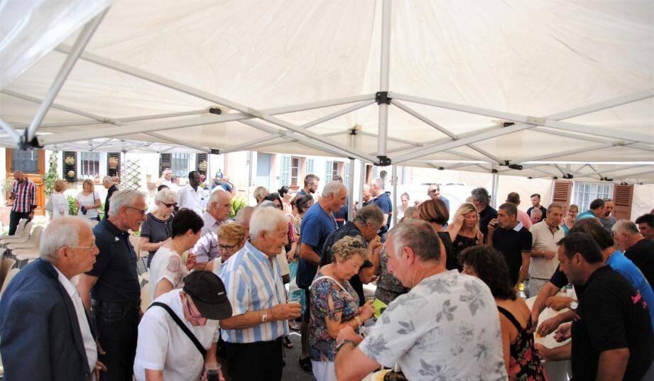 Les Tignetans sont venus nombreux pour participer aux diverses activités.