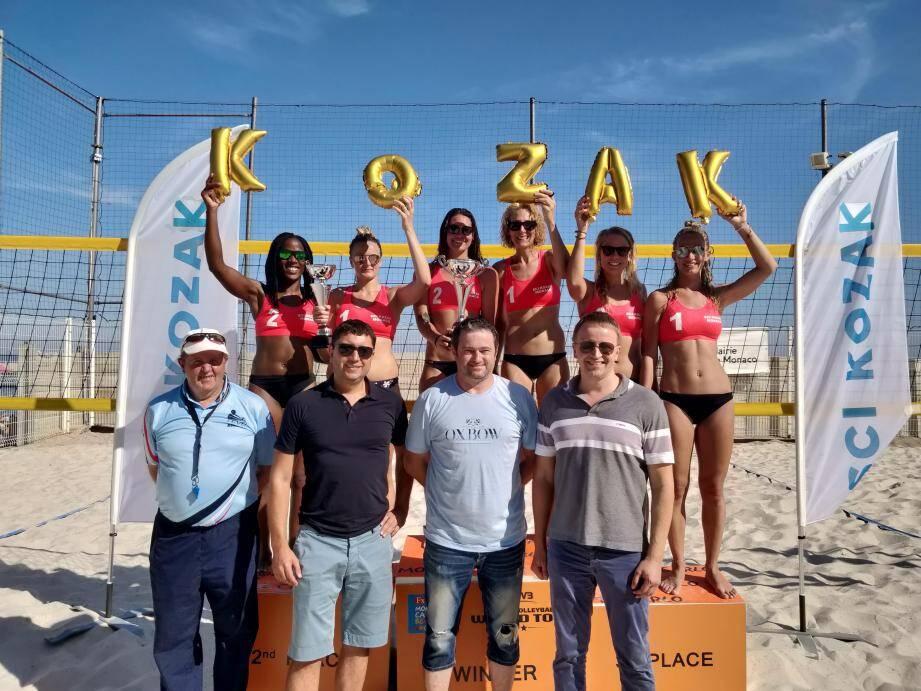 L'ASM Volley-ball a organisé le premier tournoi de beach-volley féminin de l'été, (DR)