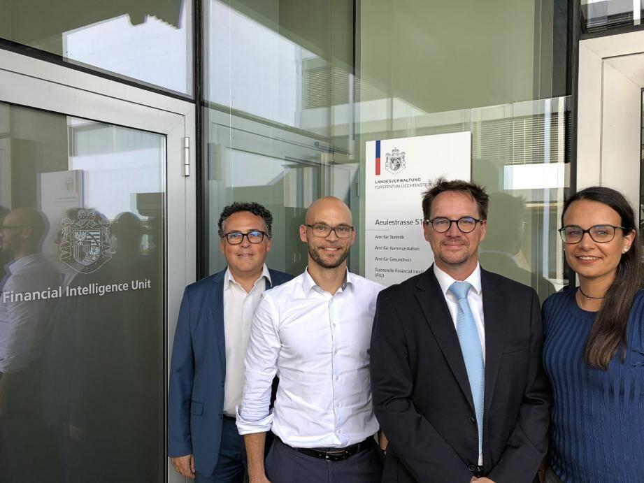 Plusieurs agents monégasques se sont rendus au Liechtenstein.(DR)