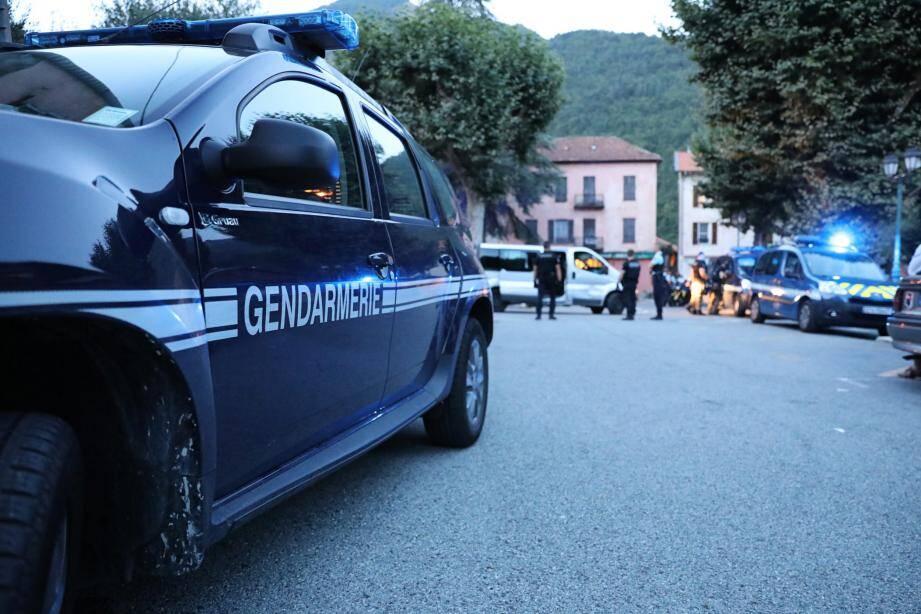"""""""Ce phénomène qui s'est produit à Moulinet, à ne pas minimiser, n'est pas anodin mais isolé"""", tient à affirmer le chef d'escadron Nicolas Tasset, commandant la gendarmerie de Menton."""