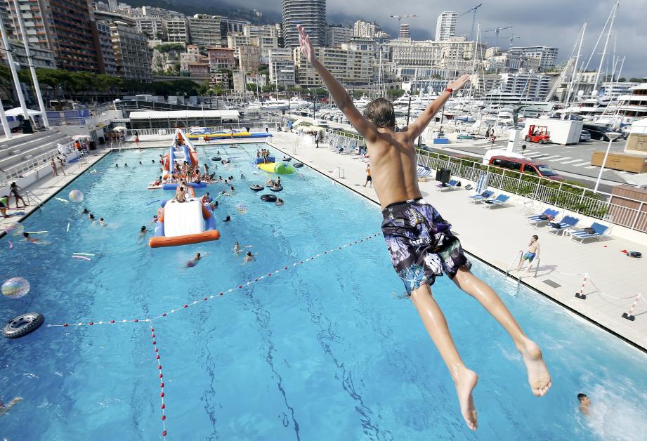 Le bassin est ouvert tous les jours jusqu'au 14 octobre.