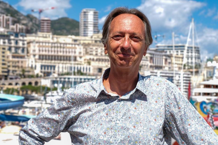 « Je tenais vraiment à faire un morceau sur Monaco », confie Richard Pizzorno.