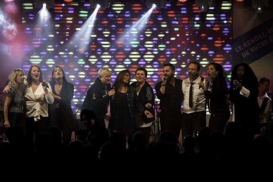 Le final de la tournée Nice-Matin à Saint-Martin-Vésubie et dans les Alpes-Maritimes, en hommage à Aretha Franklin.