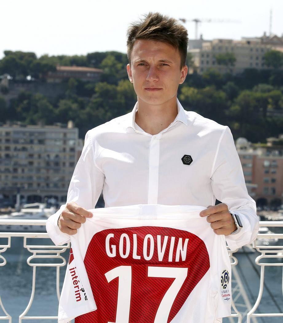 Aleksandr Golovin a vu son intégration à Monaco stoppée par une entorse de la cheville. Son retour n'est pas encore programmé.