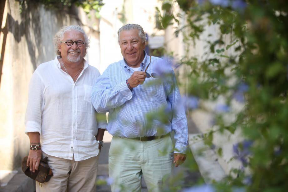 Alain Demeulin (à gauche) et Jacques Adjil ont construit leur vie à New York il y a plus de trente ans.