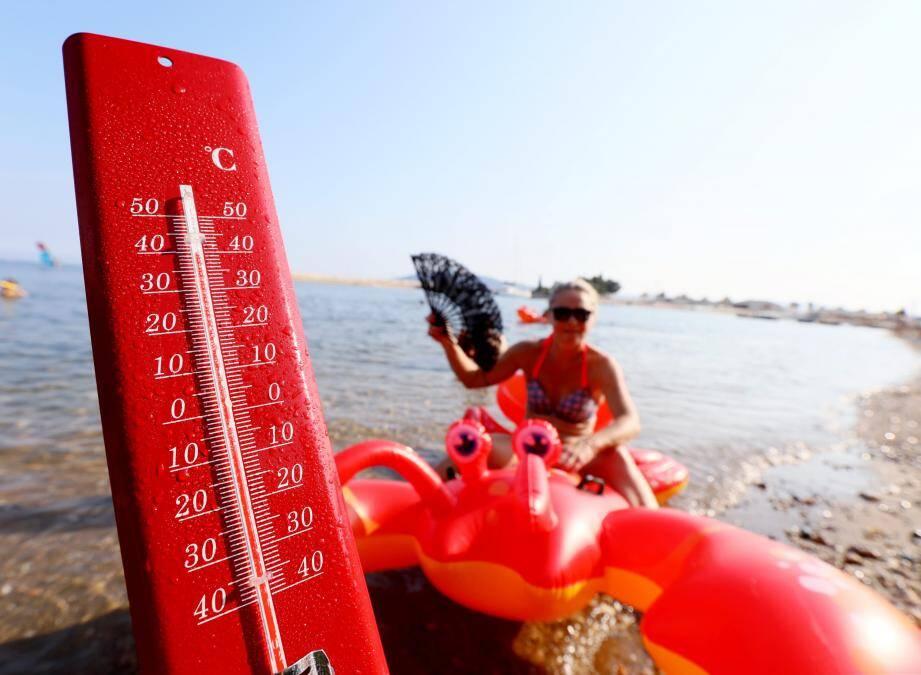 Les températures pourraient atteindre, voire dépasser, les 40 degrés .