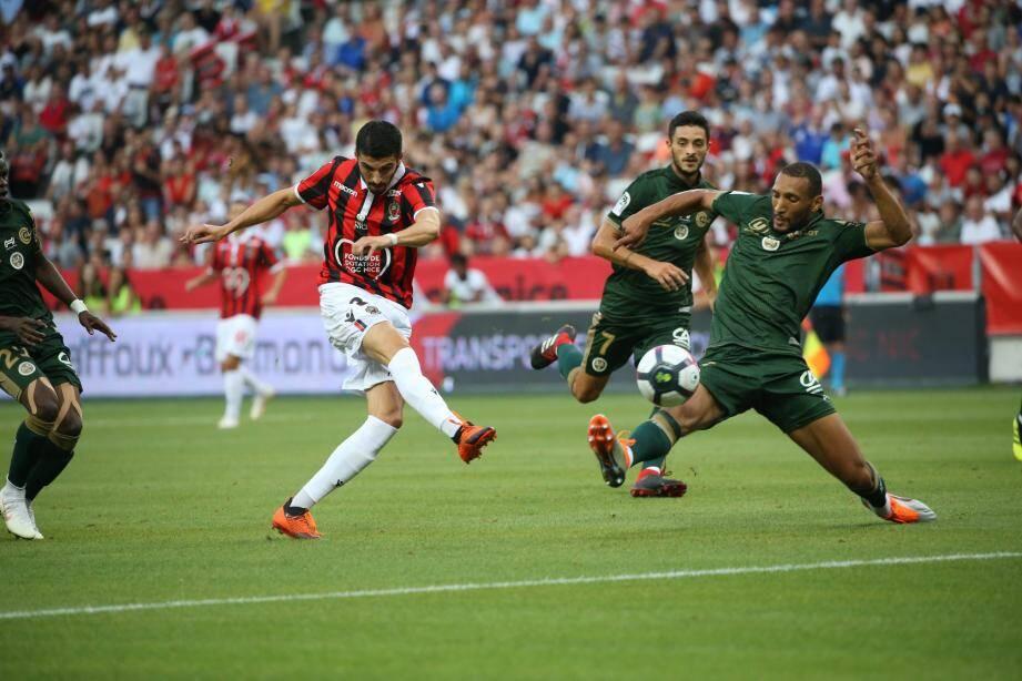 Les Champenois ont ouvert le score par Doumbia (3').