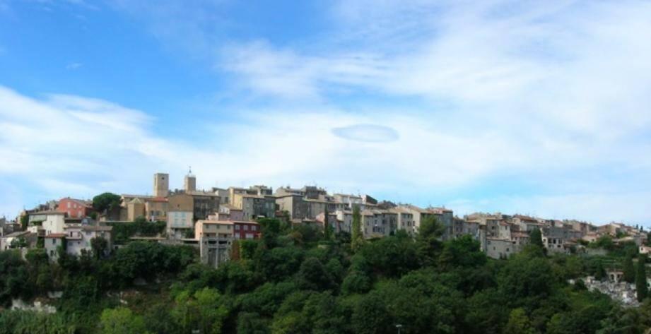 Vue sur Biot village