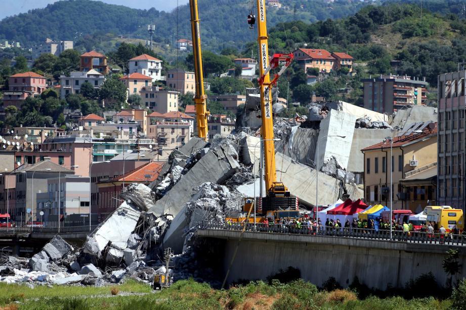 Un quatrième Français a été tué dans l'effondrement du viaduc à Gênes.