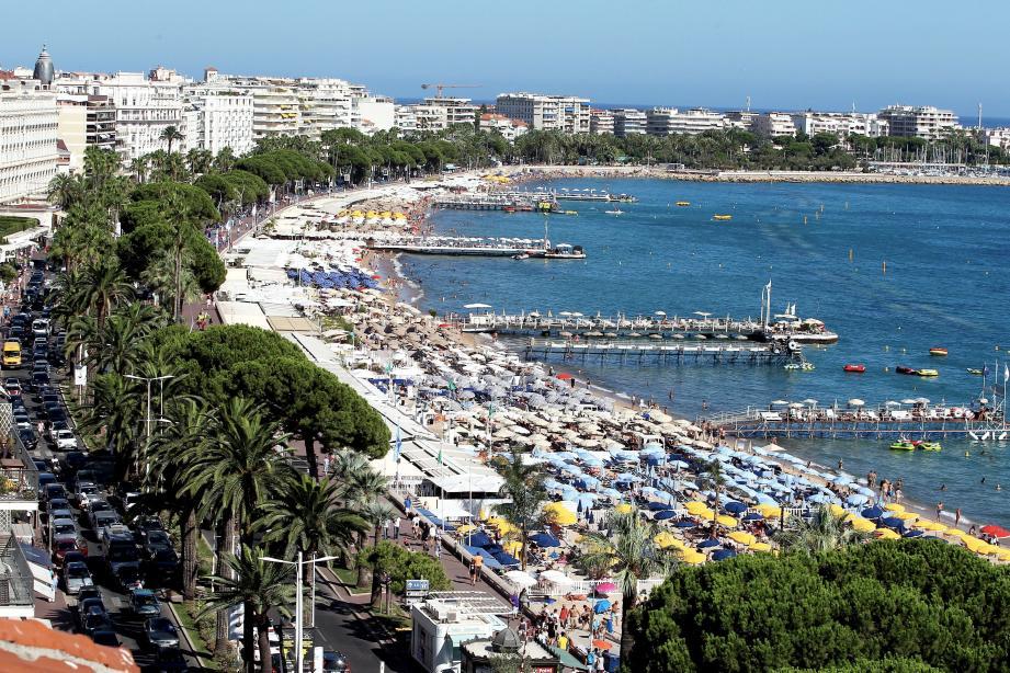 La Croisette, à Cannes