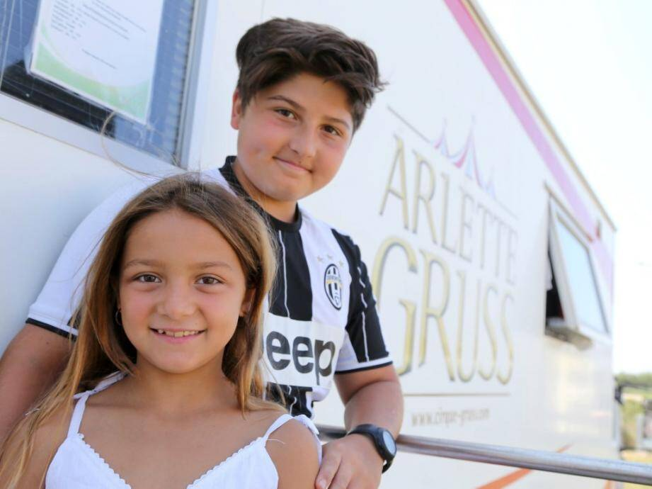 Alexis et Eros Gruss, la 7e génération.