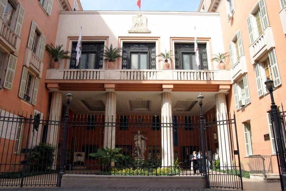 La mairie de Nice.