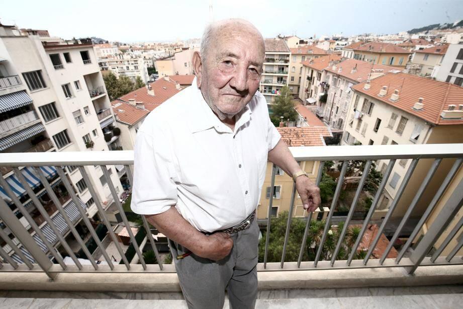 Henri Iperti, qui a payé cher son engagement aux côtés de la résistance.