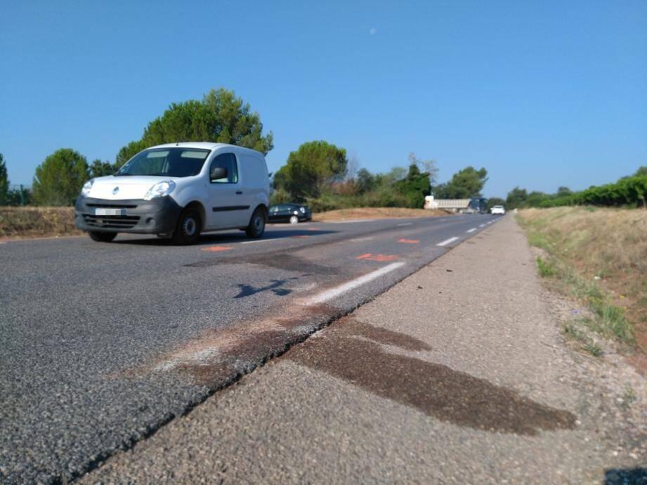 L'accident a eu lieu sur la D17.