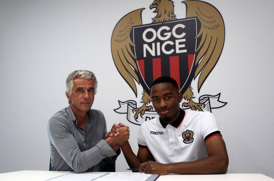 Myziane Maolida à l'OGC Nice, c'est officiel.