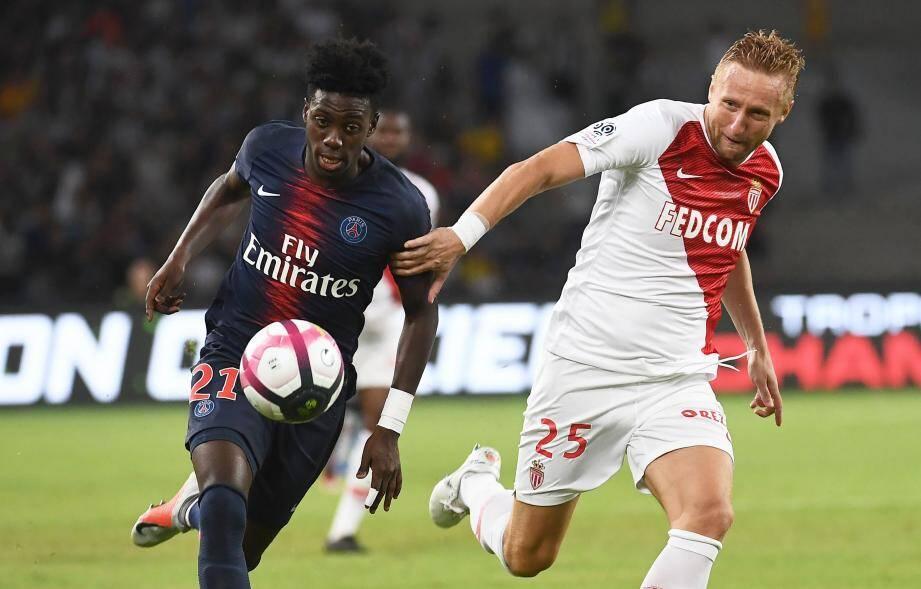 L'as Monaco s'est inclinée 4-0.