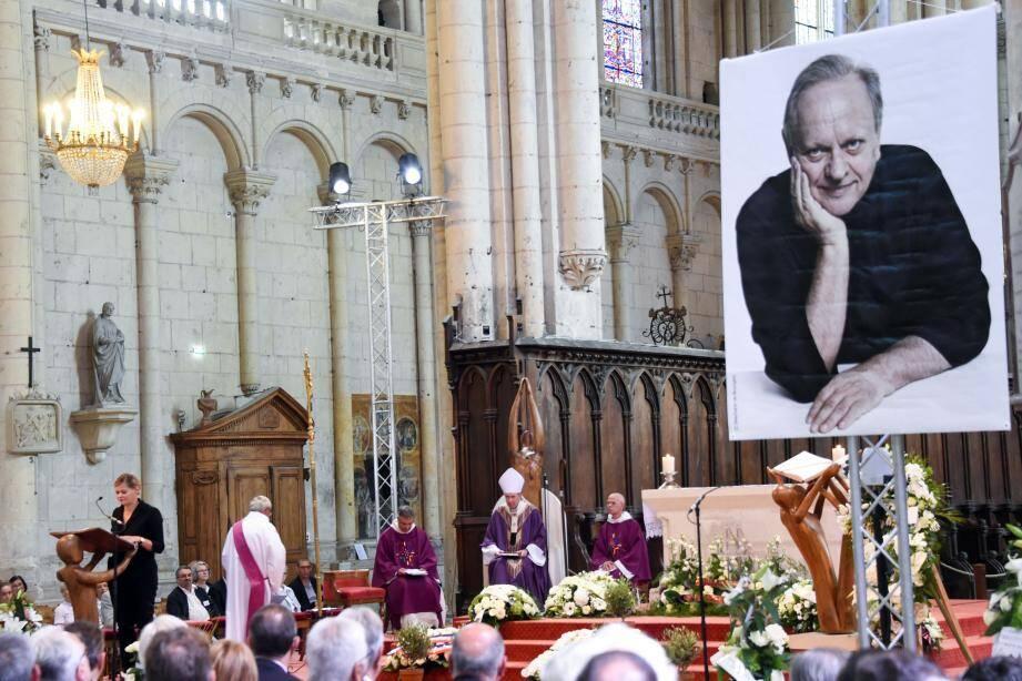 Les funérailles de Joël Robuchon ont eu lieu ce vendredi matin.