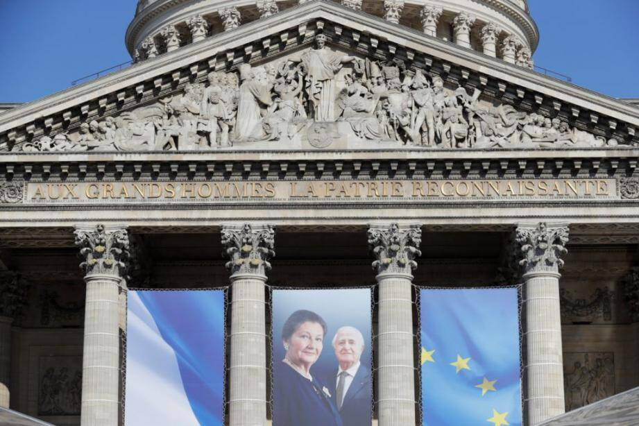 Une exposition est consacrée à Simone Veil jusqu'au 17 septembre au Panthéon, à Paris.
