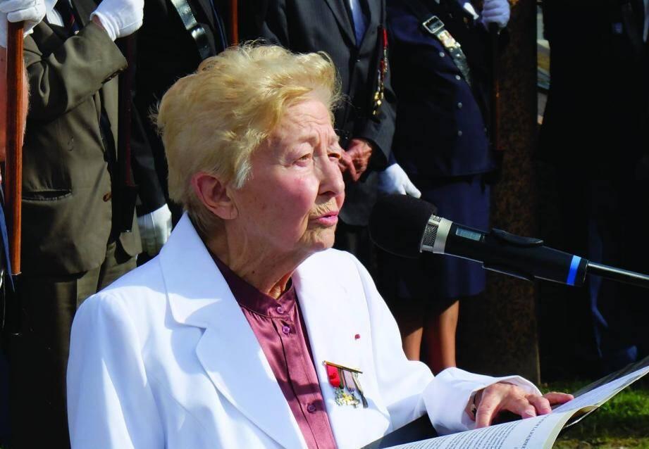 Fondatrice du musée de la Résistance azuréenne, la communiste niçoise Henriette Dubois, qui vient de s'éteindre à 98 ans, a consacré sa vie aux idéaux de progrès et d'émancipation sociale.
