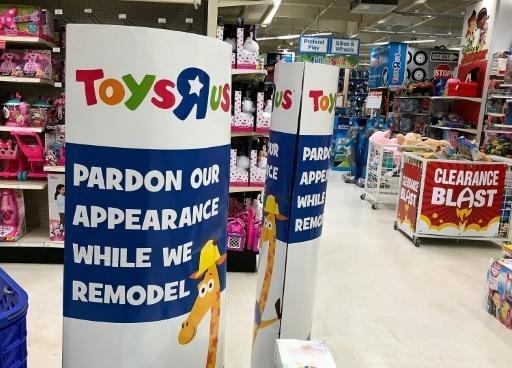 Toys'R'us en difficulté financière.