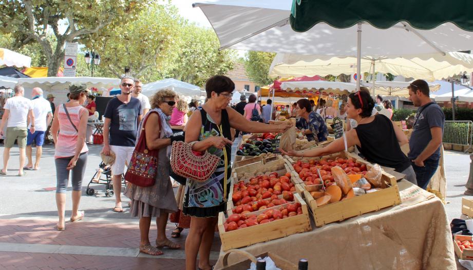 51 producteurs ont présenté leurs fruits, légumes et produits faits maison.