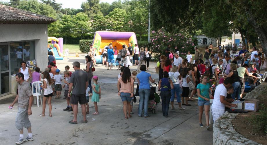 Chaque année, la fête patronale rassemble, autour des animations, toute la population.