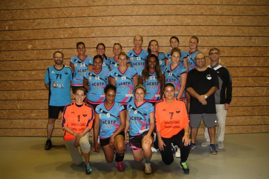 La nouvelle équipe première du HBDC cette saison en N3F.
