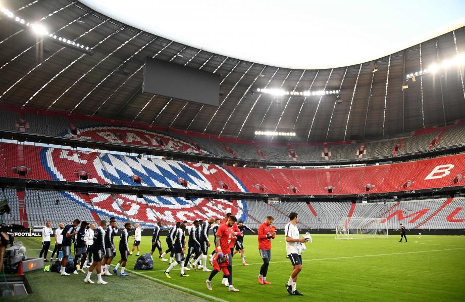 Dans le cadre de l'Allianz Arena de Munich, les champions du monde sont très attendus ce soir.
