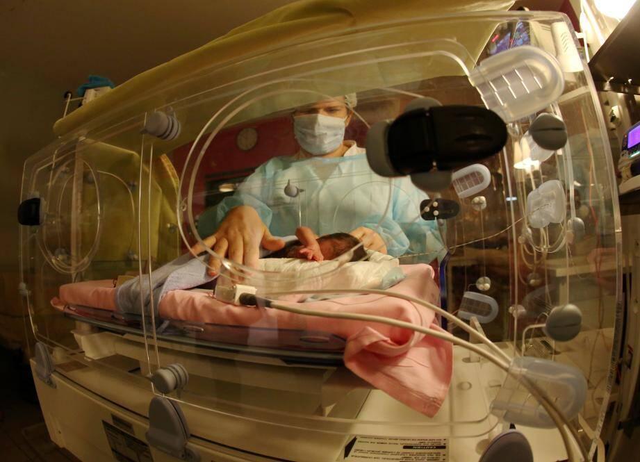 C'est au service néonatalogie de l'Archet que le petit Ablaye est né en avril.