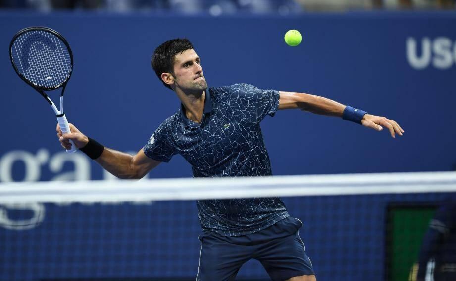 Djokovic a transpiré pour intégrer le dernier carré.