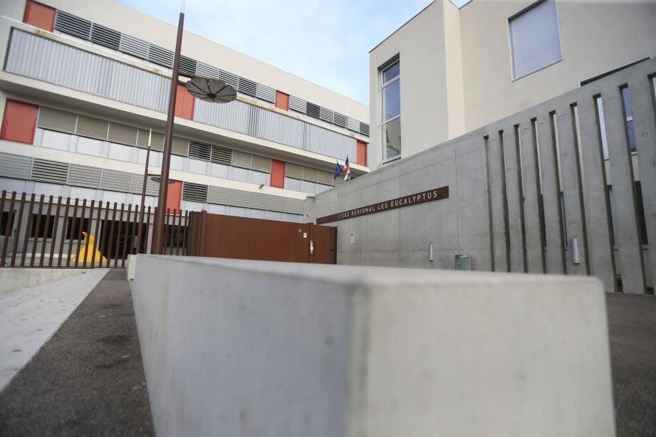 Si le ministère de l'Education nationale et la CNIL donnent leur feu vert, le lycée des Eucalyptus à Nice pourrait tester en janvier 2019 les caméras à reconnaissance faciale.