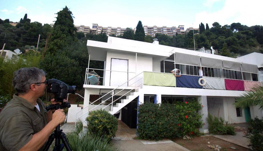 La villa Eileen Gray à Roquebrune-Cap-Martin a bénéficié du soutien financier du Département.